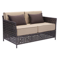 Pinery Sofa Brown & Beige -703792-1