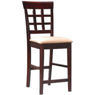 Set of 2 - Counter Height Kitchen Dining Bar Stool Chairs CWB10218
