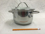 Tools of the Trade 4 Qt. Steamer/Soup Pot Stainless (Unit C)