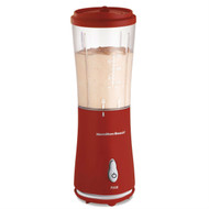 175-Watt Single Serve Personal Blender in Red with Clear BPA Free Jar HBSB148531