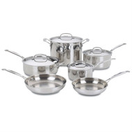 10-Piece Stainless Steel Cookware Set CSC103354