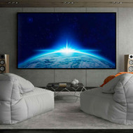 120-inch 16:9 HD Portable Easy Roll Out Movie Theater Projector Screen