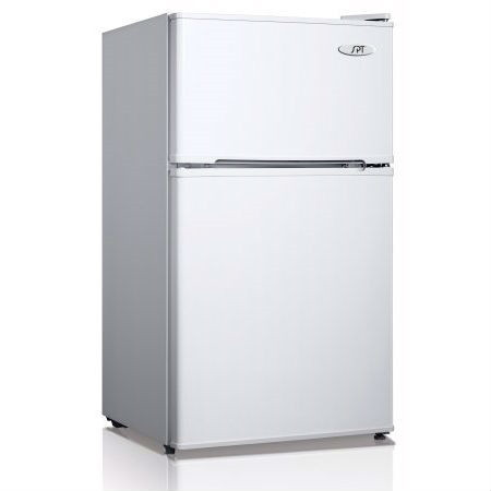 3.1 Cubic Foot Refrigerator with Top-Mount Freezer in White S51585135