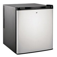 Culinair 1.7-Cubic Foot Compact Refrigerator in Silver & Black C17CFCRSB9