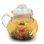 Glass Stovetop Tea Pot Water Boiler Kettle with Infuser PGSTPWI2014