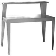 24 x 44 inch Galvanized Steel Top Utility Table Workbench Potting Bench BTMW1749953-4