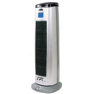 Ceramic Heater Tower with Ionizer by Supentown SCHT94514