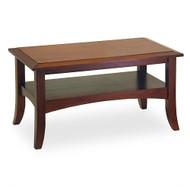 Classic Design Wood Coffee Table in Antique Walnut WAWCT7790