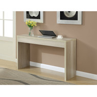 Contemporary Sofa Table Console Table in Weathered White Wood Finish CNCTW7581