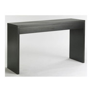 Contemporary Living Room Console Wall / Sofa Table in Espresso CNW66945