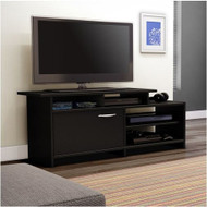 52-inch Modern TV Stand in Black Finish SO52INTVSB1
