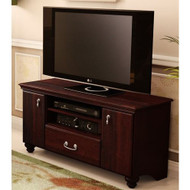 48-inch Eco-Friendly TV Stand in Dark Mahogany NS48INTVSDM