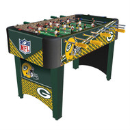 Foosball Table with NFL Green Bay Packers Design NFLGP169