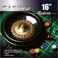 16-inch Roulette Wheel Game Set by Da Vinci DA16RWGS2450