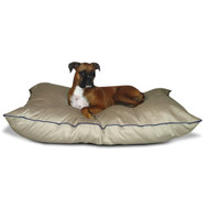 Medium size Dog Bed Pillow in Khaki - Made in USA MPVP2847