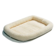 36 x 23 inch Synthetic Sheepskin Fleece Dog Bed - Medium size Dogs MQTP2841