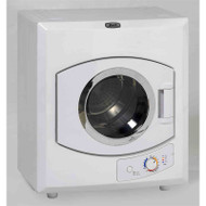 110-Volt Automatic Electric Dryer with Stainless Steel Drum A110VAD38900