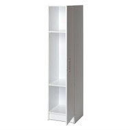 White Tall Storage Cabinet for Brooms and Mops PBC1195182