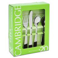 20 Pc Flatware Set, Apex Mirror 310920OPL