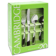20 Pc Flatware Set, Allure Mirror 34020OPL