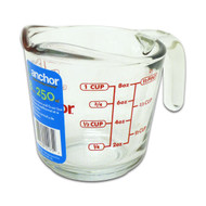 Glass 8 Oz Measuring Cup, Blue Label 55175OL1