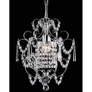 Elegant Chrome Crystal Chandelier C1214025C8