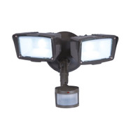 Motion Activated Energy Star LED 2-Head Floodlight Outdoor Security Light MALEDL934595
