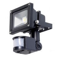 Outdoor LED Floodlight Security Light with Motion Sensor 40-Ft Detection Range TWLEDF368461
