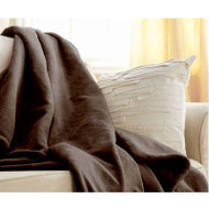 Walnut Brown Cuddle Microplush Heated Electric Warming Throw Blanket WBHT5819815