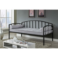 Twin size Modern Black Metal Daybed for Bedroom or Living Room BMDB519841