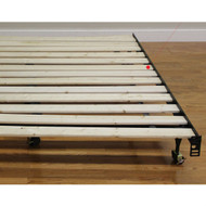 Twin size Heavy Duty Wooden Bed Slats - Made in USA BHDK515818