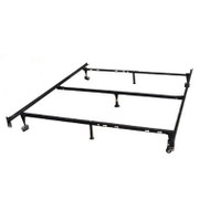 Heavy Duty 7-Leg Metal Bed Frame / Adjust to fit Twin, Full, & Queen HD7LAFQTBF