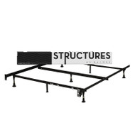 Heavy Duty 7-Leg Metal Bed Frame - Fits Sizes Twin, Full, & Queen SBMHD7LQF