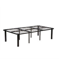 Twin 8-Leg Metal Platform Bed Frame - No Box-spring Necessary THLBF51481