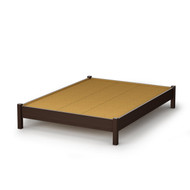 Full size Contemporary Platform Bed in Chocolate Finish SCS5417899