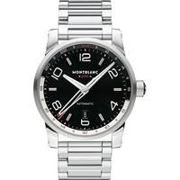 Montblanc TimeWalker Voyager UTC Steel Watch 109135