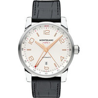 Montblanc TimeWalker Voyager UTC Steel Watch 109136