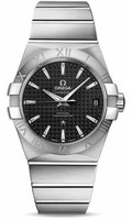 Omega Constellation SS Black Dial Watch 123.10.38.21.01.002