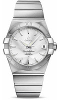 Omega Constellation SS Silver Dial Watch 123.10.38.21.02.001