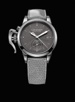 Graham London Chronofighter 1695 Romantic Grey Steel Watch 2CXMS.A01A