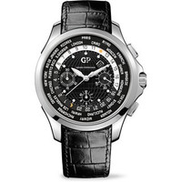 Girard-Perregaux Traveller Chronograph Steel Men's Watch 49700-11-631-BB6B