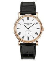 Patek Philippe Calatrava Small Seconds RG Watch 5116R-001