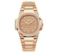 Patek Philippe Nautilus Diamonds RG WoWatch 7010/1R-012