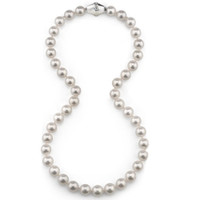 Imperial Crown Akoya Cultured Pearl Necklace 80CCRN/WH18