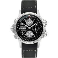 Hamilton X-Wind chrono black rubber