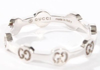 Gucci GG Love Ring WG Size 54