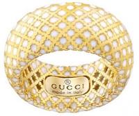 6ffeac5f0 Gucci Diamantissima Light Ring Gold Size 53 (YBC2849000010)