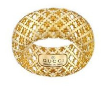 Gucci Diamantissima Light Ring Gold Size 53
