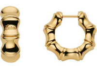 Gucci Bamboo Spring Earrings Rose Gold