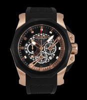 Orefici Gladiatore Chronograph SS Watch ORM2C4808